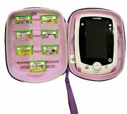 Leapfrog Leappad 2 Explorer Handheld System Purple With Case And 7 Girl Games