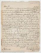 Richard Combe English Parliament Politician Earnshill House Signed Letter 1779