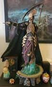 Sideshow Court Of The Dead Death Master Of The Underworld Statue Ex With Custom