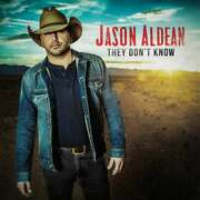 Free Us Ship. On Any 3+ Cds Used,very Good Cd Aldean,jason They Don't Know