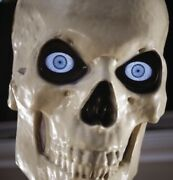 12 Foot Ft Tall Giant Skeleton W/ Animated Lcd Eyes Halloween Prop Sold Out New