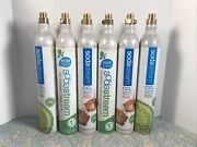 Empty Lot Of 6 Sodastream 60l Co2 Cylinder Replacement Canisters Read Desc