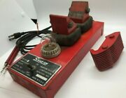 Vtg Snap On Tools Armature Tester Growler Coil Motor Test Stand Generator Snapon