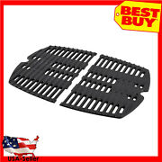 Bbq Grill Cooking Grid Grate Replacement For Weber 7644 Q100 Q1000 Q1200 Q1400