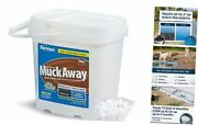 Muckaway Natural Pond Muck Remover – Safely Clears Muck And Sludge 8 Scoop
