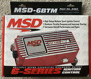 Msd 6462 6btm Ignition Control For Forced Induction Turbo And Superchargers
