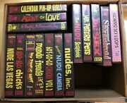 Something Weird Videos Lot Of 54 Vhs Tapes. Very Good Condition.