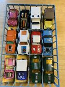 Vintage Toy Cars/trucks Lot Of 36 Matchbox And Hot Wheels
