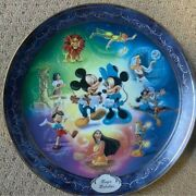 The Bradford Exchange Limited Edition Disney Collector Plates.