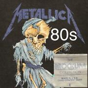 Metallica 80's Vintage Tour T-shirts 1989 Brockum Made In Usa Men's Size L F/s