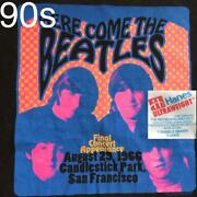 Beatles 90s Vintage T-shirts Single Stich Made In The Usa Men Xl Free Shipping