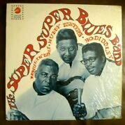 Sealed-super Super Blues Band-and03967-1st Press-howlinand039 Wolf/muddy Waters/bo Diddley