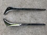 Triumph Tr3a Windshield Stanchions Right And Left From 1960 Tr3a