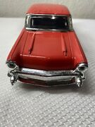 Vintage Classic O'reilly Auto Parts Toy Car Color Red