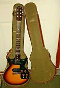 1961 Gibson Melody Maker D Dual Pickups, Double Cutaway W/ Orig Case