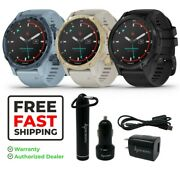 Garmin Descent Mk2s Smaller-sized Watchstyle Dive Computer And Power Pack Bundle