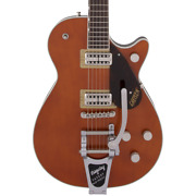 Gretsch G6128t Players Edition Jet Ft With Bigsby - Roundup Orange