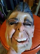 Vintage 1980's Ronald Reagan Rubber Halloween Mask, Made In Germany
