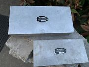 Vintage Umco Large B-11 And Mini No. 60 Aluminum Fly Fishing Lure Tackle Boxes