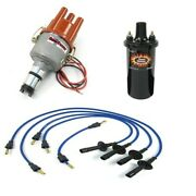 Ripper Ignition Kit, With Electronic Distributor, Blue, Dunebuggy And Vw