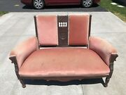 Antique Eastlake Love Seat - Settee - Sofa - Bench- Couch Late 1800s