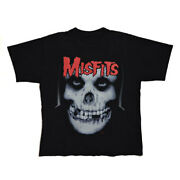 Vintage T-shirt Misfits 20 Years Of Terror 1977-1997 Size List No.mt389