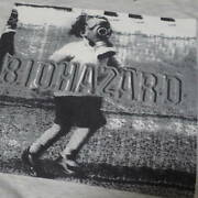 90s Biohazard Vintage T-shirt Gray Old Toy The Real Thing Band Rock