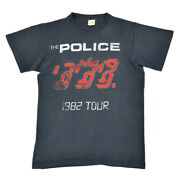 1982 Police Ghost In The Machine Vintage T-shirt Band Aa1 List No.mt387