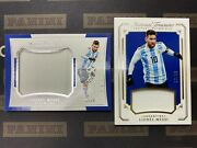 Lionel Messi 2018 Panini National Treasures Century Colossal Jersey /99 Lot 2