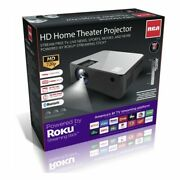 New Hd Smart Home Theater Projector With Roku Streaming
