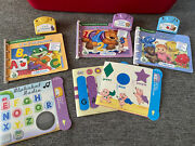 Leap Frog Little Touch Leap Pad 3 Cartridge Books And Activity Cards B22