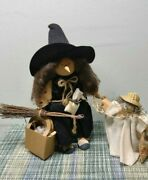 Lizzie High Halloween Dolls Witch With Tags 9 Tall