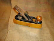 Antique Stanley Liberty Bell 122 Wood Plane