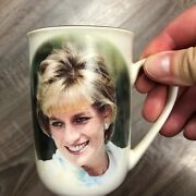 Princess Diana Tribute Cup With Tribute Text And Rose Photo