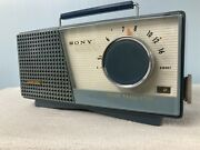 Early Sony Tr 7120 Transistor Radio With Bluetooth And Fm Options