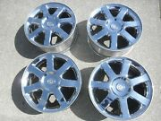 2010 Chrysler 300 Factory Chrome Wheels 18 Inch W/center Caps And Sensers 4
