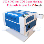 Ruida 80w Co2 Laser Engraver With Rotary 700 X 500mm 20 X 28