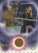 Buffy The Vampire Slayer Women Of Sunnydale Pieceworks Costume Card Pw-1
