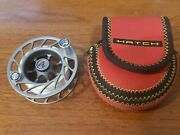 Hatch Finatic 2 Plus Spare Spool In Case - Excellent++ - Made In Usa