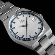 Omega Geneve Automatic 166.099 Date Vintage Men's Watch 1971 Wl34564