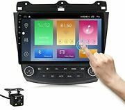 Android 10.0 Car Radio For Honda Accord 7 2003-2007,10 Inch Ips Touch Screen Gps