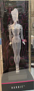 Barbie Clear Doll Art Of Engineering 1959 - Mattel Creations + Shipping Box