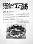 Antique Old Print Pottery And Porcelain A Guide To Collectorspages 1912