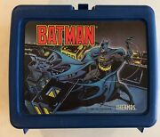 Vintage 1991 Batman Lunchbox And Thermos Dc Comics Complete
