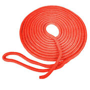 Seagrace Boat Dock Line | Double Braided 5/8 Inch X 30 Ft Red