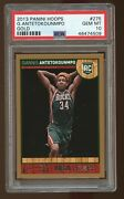Psa 10 2013-14 Hoops Giannis Antetokounmpo 275 Rookie Gold Finals Champion Rc