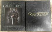 Hbo Br Game Of Thrones Got The Complete First And Second Season 1 And 2 Blu-ray