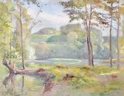 Paul Cobbler - Painting Original - Watercolour - Valley Of The Hollow 6 1911