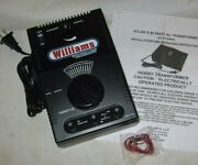 Williams / Atlas 80 Watt Ac Transformer W/ Whistle And Bell Buttons Wks W/ Lionel