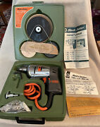 Vintage Black And Decker 1/4andrdquo 7021 Electric Utility Drill Complete Nos Very Rare
